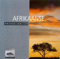 Afrikaanse Volksliedjies Vol 1 - Various Artists (CD)