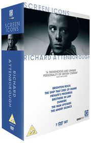 Richard Attenborough Screen Icon - (Import DVD)