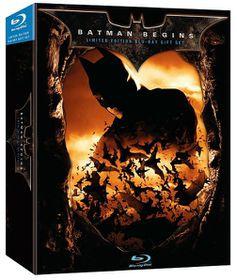 Batman Begins Gift Set - (Region A Import Blu-ray Disc)