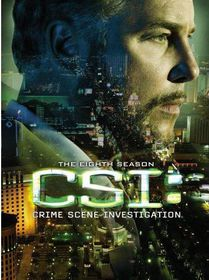 CSI:Crime Scene Investigation Season 8 - (Region 1 Import DVD)