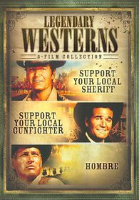 Legendary Westerns - (Region 1 Import DVD)