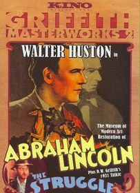 Abraham Lincoln/Struggle - (Region 1 Import DVD)