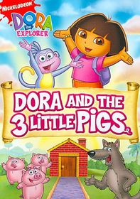 Dora the Explorer:Dora and the Three - (Region 1 Import DVD)