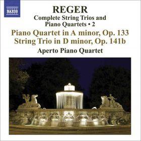 Reger:Vol 2 Complete String Trios & P - (Import CD)