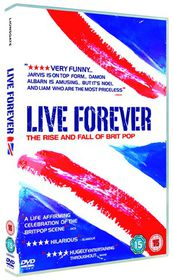 Live Forever - The Rise and Fall of Brit Pop - (Import DVD)