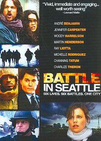 Battle in Seattle - (Region 1 Import DVD)