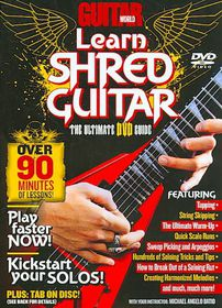 Guitar World:Learn Shred Guitar - (Region 1 Import DVD)