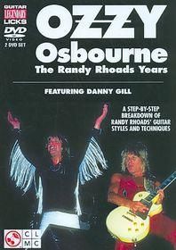 Ozzy Osbourne:Randy Rhoads Years - (Region 1 Import DVD)