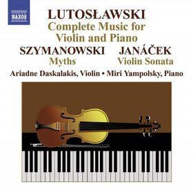 Lutoslawski Complete Works for Violin - (Import CD)