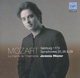 Rhorer Jeremie - Symphonies Nos.25, 26 & 29 (CD)