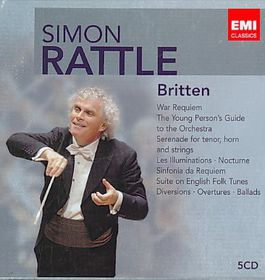 Rattle Sir Simon - Britten (CD)