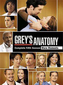 Grey's Anatomy: Season 5 - (Region 1 Import DVD)