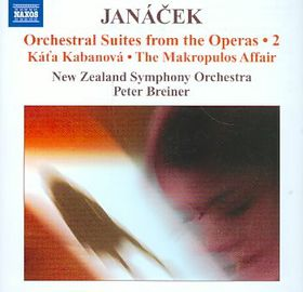 Janacek: Orchestral Suites 2 - Nzso/breiner (CD)