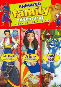 Animated Family Adventures - (Region 1 Import DVD)