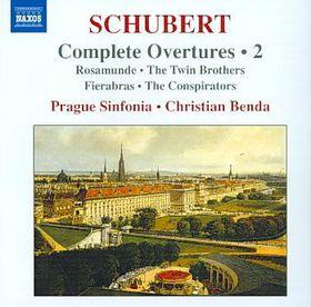 Schubert:Complete Overtures Vol 2 (Ro - (Import CD)
