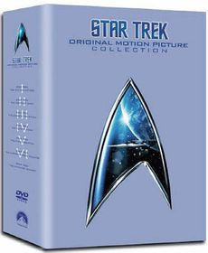 Star Trek: The Movies 1-6 (Box Set) - (Import DVD)