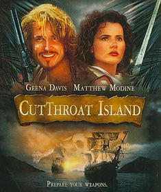 Cutthroat Island - (Region A Import Blu-ray Disc)