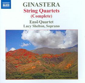 Ginastera: String Qtets - String Quartets (CD)