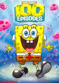 Spongebob Squarepants First 100 Episo - (Region 1 Import DVD)