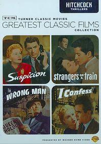 Tcm Greatest Films:Hitchcock Thriller - (Region 1 Import DVD)