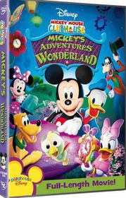 Mickey Mouse Clubhouse Mickey's Adventures in Wonderland (DVD)