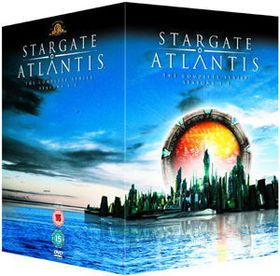 Stargate Atlantis: The Complete Seasons 1-5 - (parallel import)