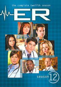 ER: Complete Twelfth Season - (Region 1 Import DVD)