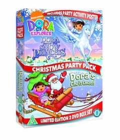 Dora the Explorer: Dora's Christmas Party - (Import DVD)