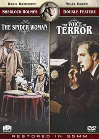 Sherlock Holmes:Spider Woman/Voice - (Region 1 Import DVD)
