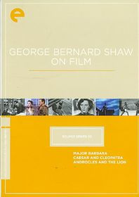 Eclipse 20:George Bernard Shaw on Fil - (Region 1 Import DVD)