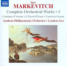 Markevitch: Orch Works - Orchestral Works (CD)