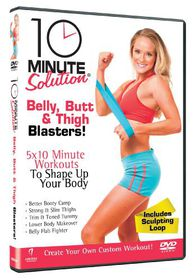 10 Minute Solution - Belly, Butt And Thigh Blasters - (Import DVD)