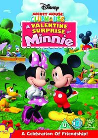 Mickey Mouse Clubhouse: A Valentine Surprise For Minnie - (Import DVD)