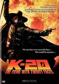 K 20:Fiend with Twenty Faces - (Region 1 Import DVD)