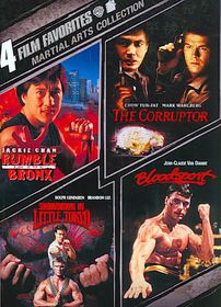 4 Film Favorites:Martial Arts Collect - (Region 1 Import DVD)