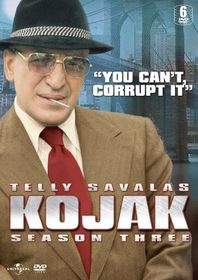 Kojak - Season 3 - (Import DVD)