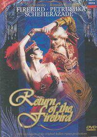 Andris Liepa - The Return Of The Firebird (DVD)