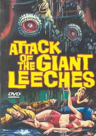 Attack of the Giant Leeches - (Region 1 Import DVD)