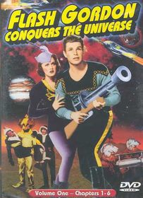 Flash Gordon Conquers the Universe - Vol. 1 - (Region 1 Import DVD)