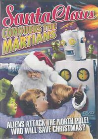 Santa Claus Conquers the Martians - (Region 1 Import DVD)
