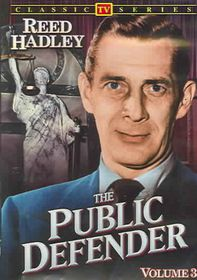 Public Defender:Vol 3 Classic TV - (Region 1 Import DVD)