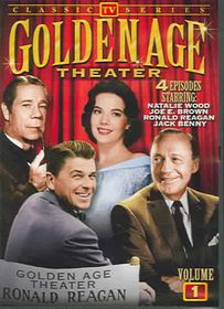 TV Golden Age Theater:Vol 1 - (Region 1 Import DVD)