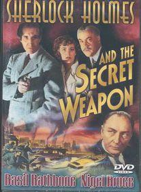 Sherlock Holmes and the Secret Weapon - (Region 1 Import DVD)
