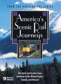 America's Scenic Rail Journeys - (Region 1 Import DVD)