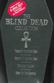 Blind Dead Collection - (Region 1 Import DVD)