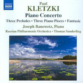 Kletzki:Piano Cto Three Preludes Thre - (Import CD)