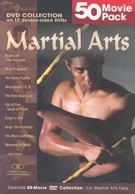 Martial Arts 50 Movie Mega Pack (Region 1 Import DVD)