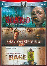 Horror Triple Feature - (Region 1 Import DVD)