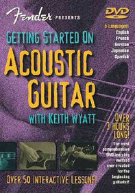 Getting Started on Acoustic Guitar - (Region 1 Import DVD)