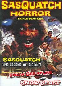 Sasquatch Horror Collection - (Region 1 Import DVD)